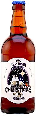 Wight Christmas bottle