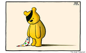 Pudsey in morning