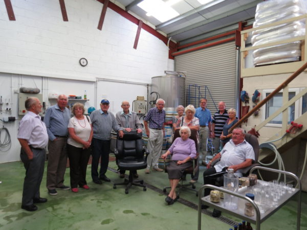 Suez Veterans brewery tour